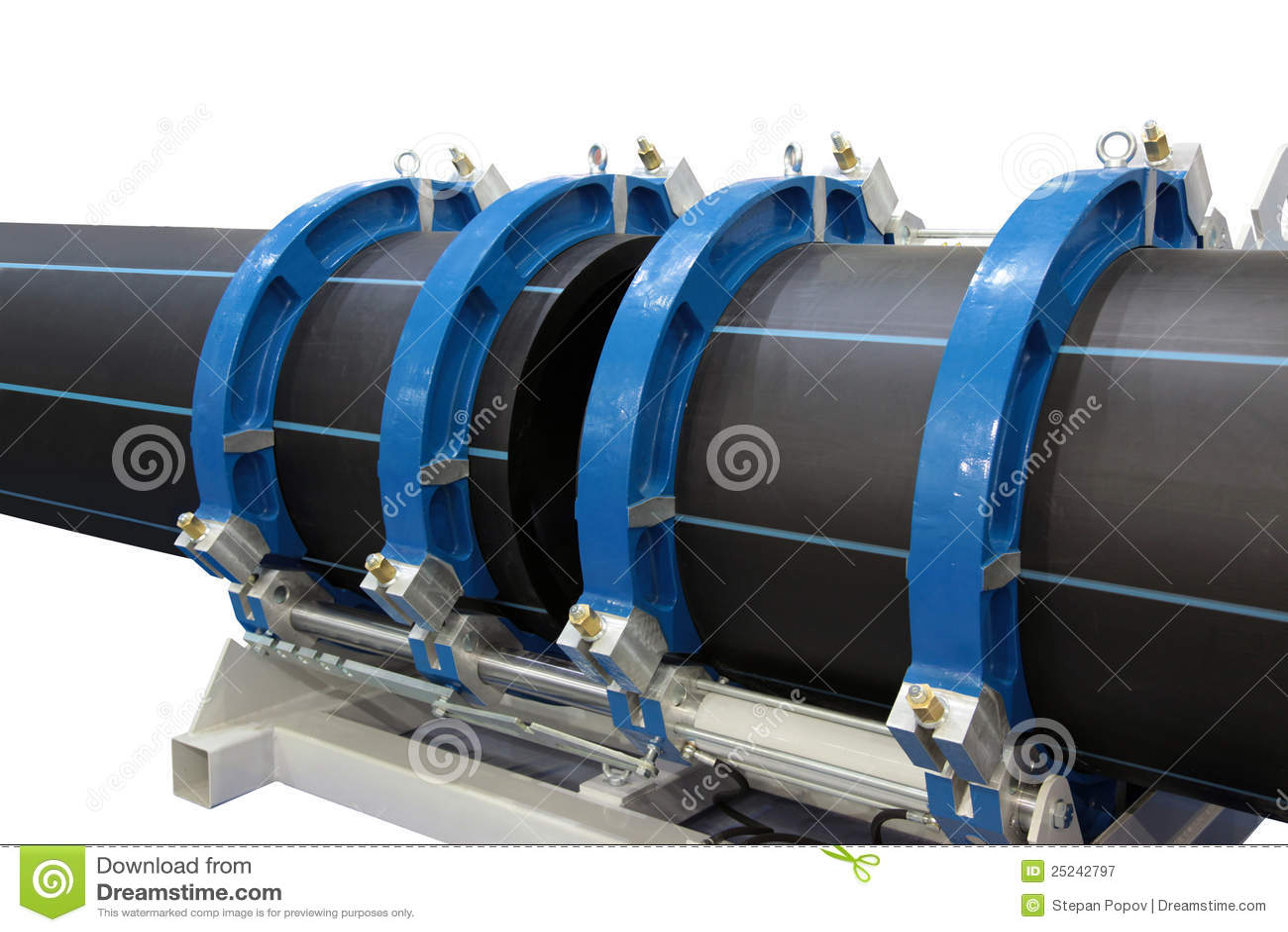 Saldatura dei tubi di plastica immagine stock immagine for Tipi di tubi di plastica