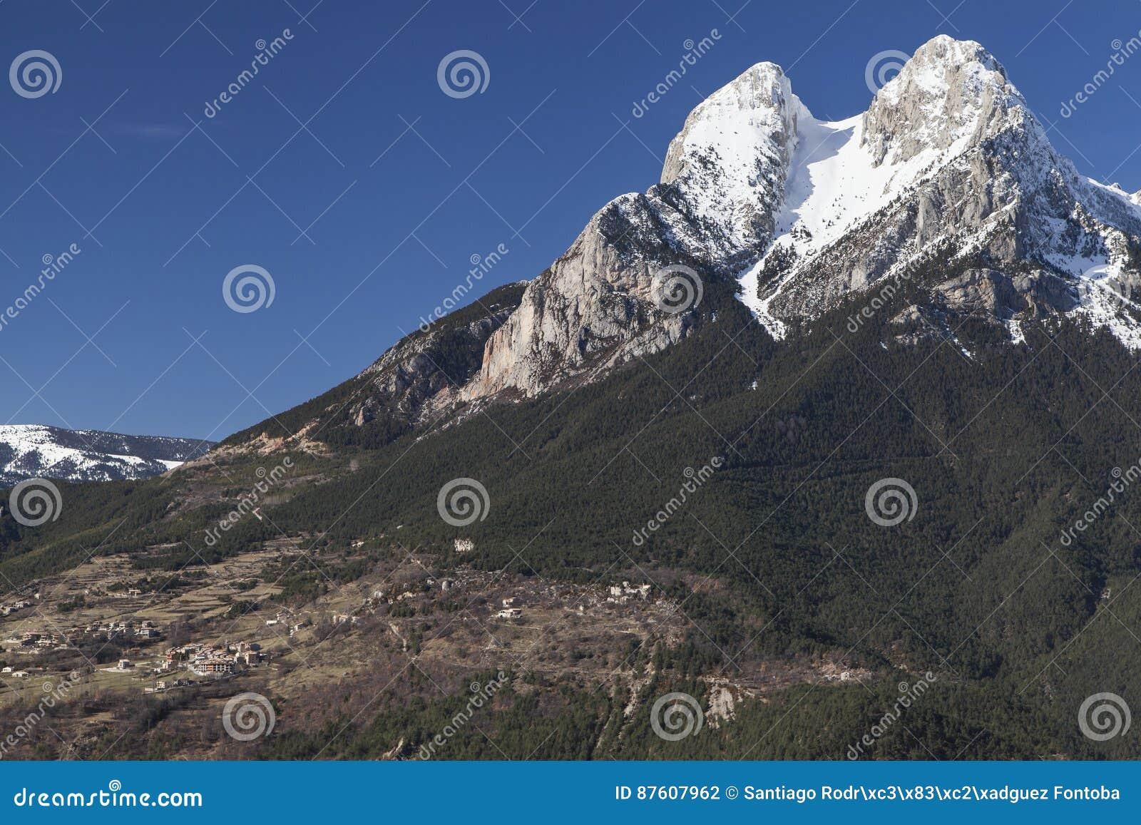 Saldes and the Pedraforca