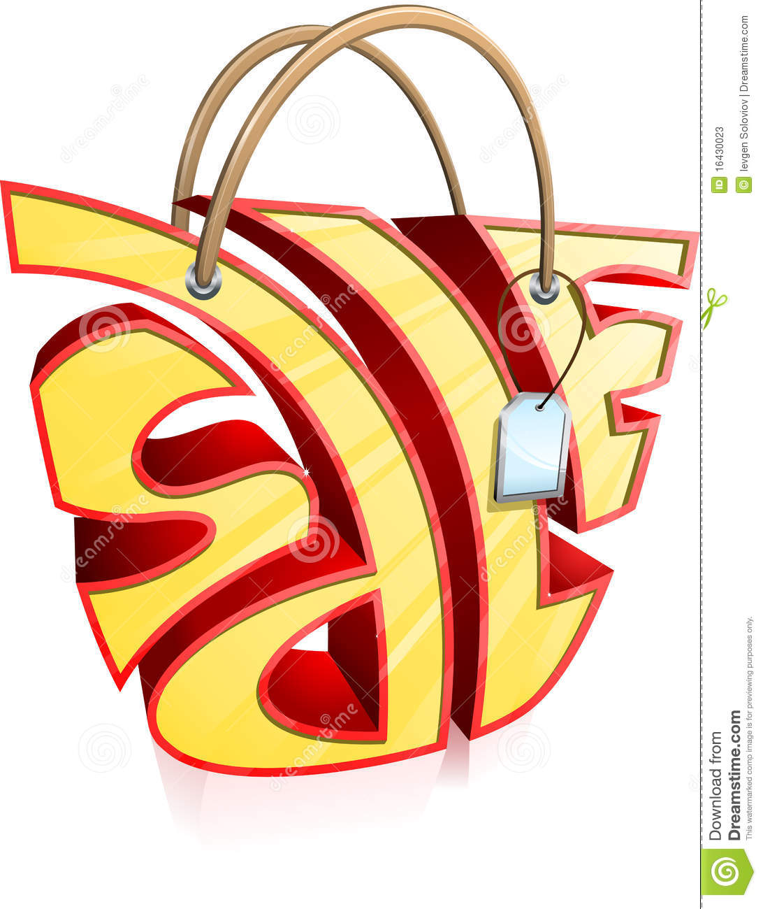 Sale Bag Stock Photos - Image: 16430023
