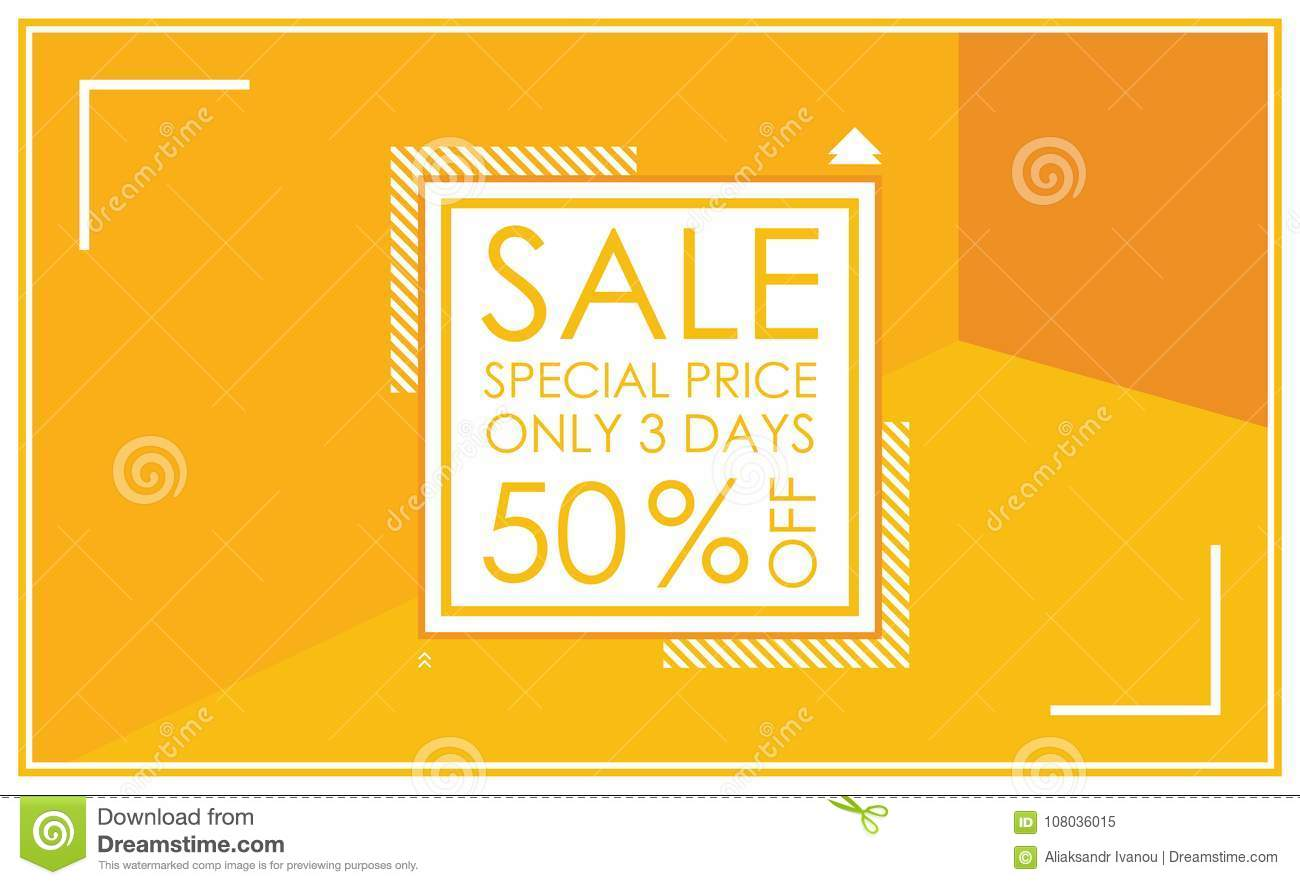 Sale banner template design vector illustrations for website an sale banner template design vector illustrations for website and mobile website banners posters email and newsletter designs ads promotional material maxwellsz