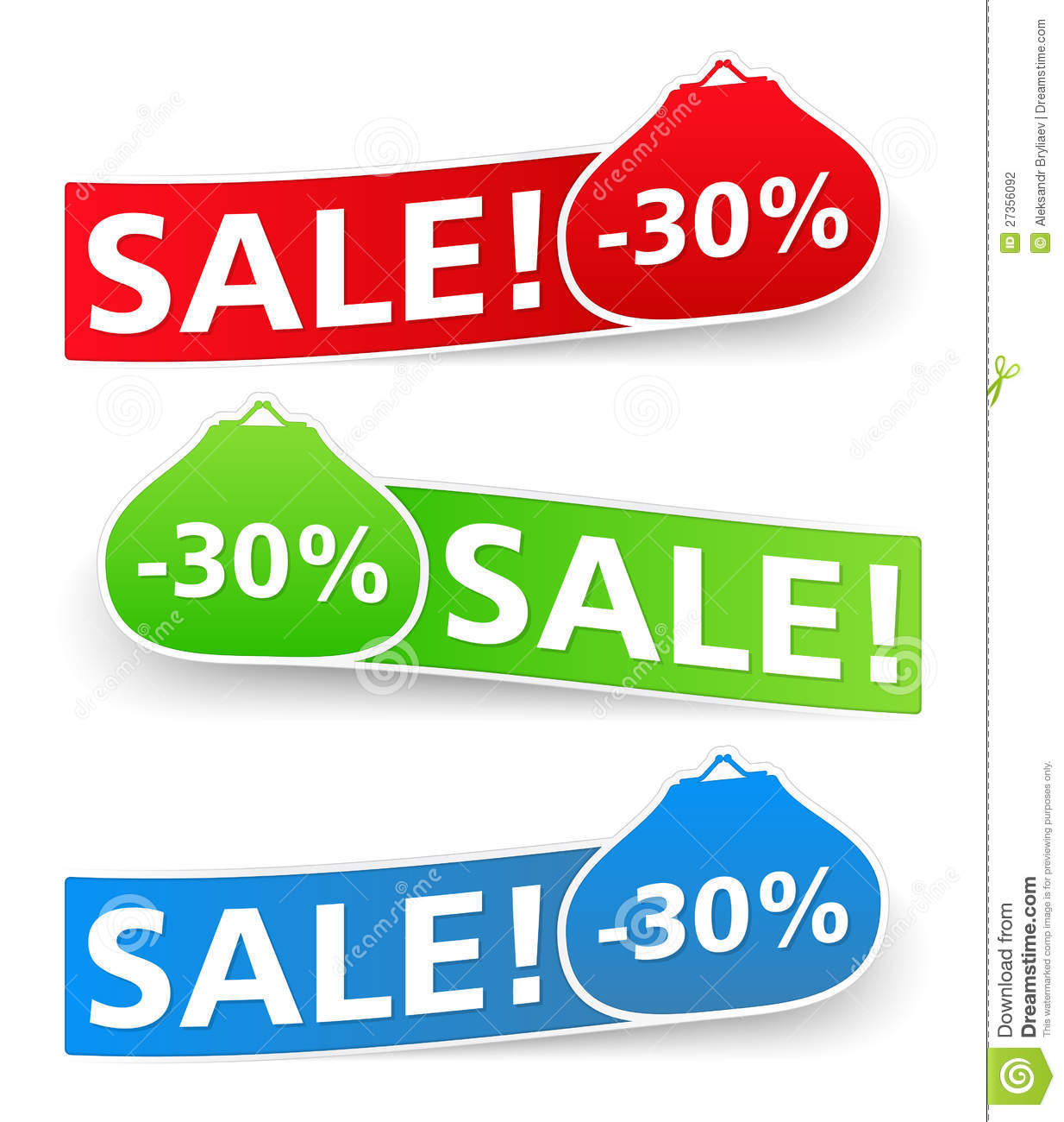 Sale Banners Stock Photography - Image: 27356092