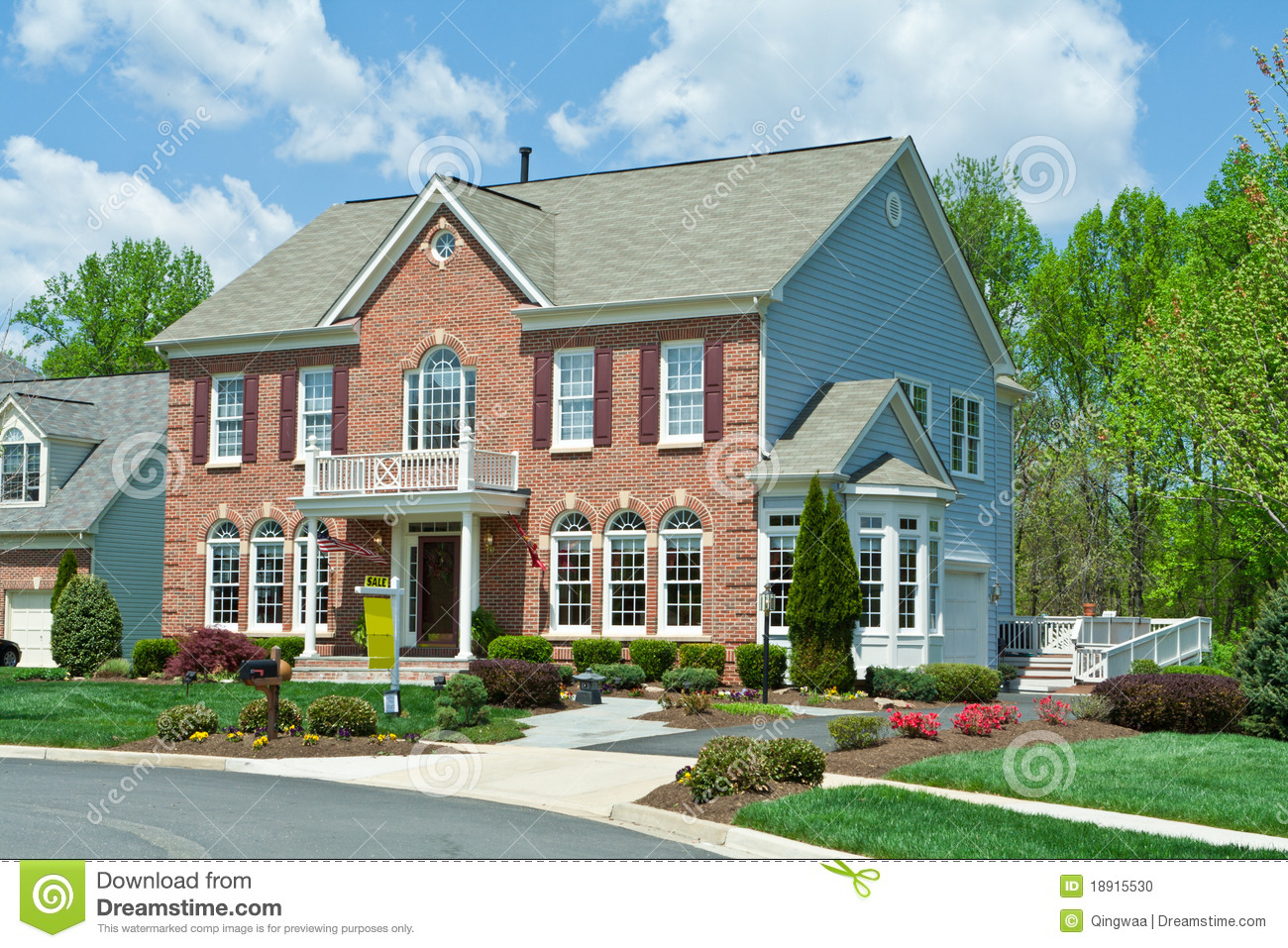Colonial style homes house plans House plans usa
