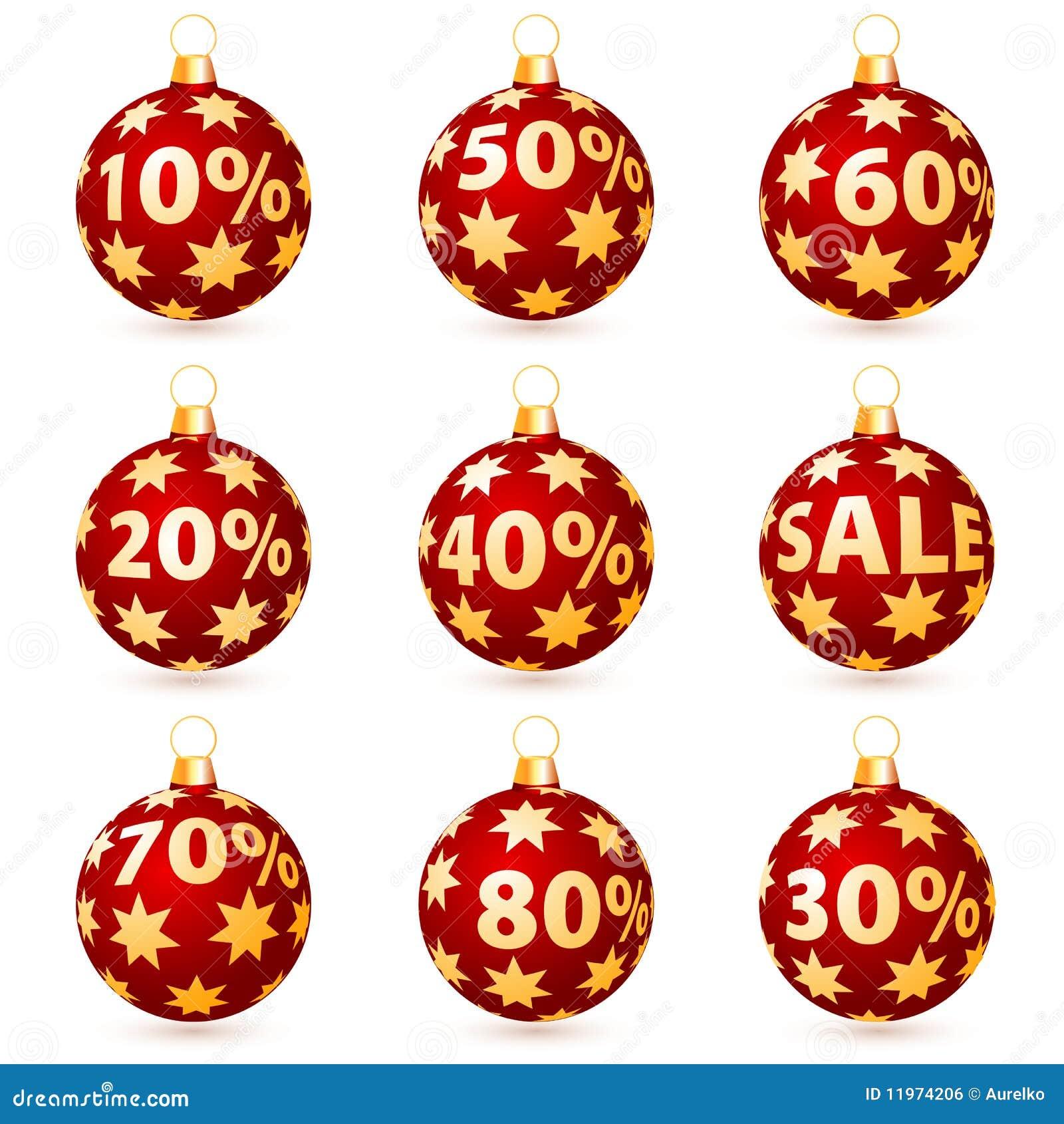 Sale christmas balls