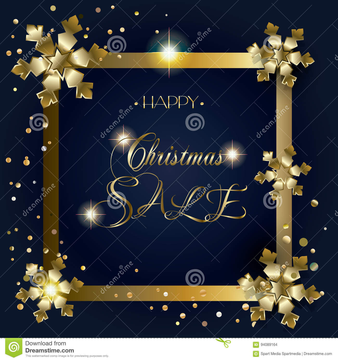 2018 Sale CHRISTMAS Stock Vector - Image: 94089164