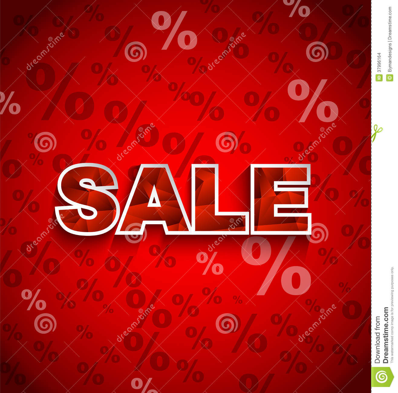 sale discount background stock vector  image of percent