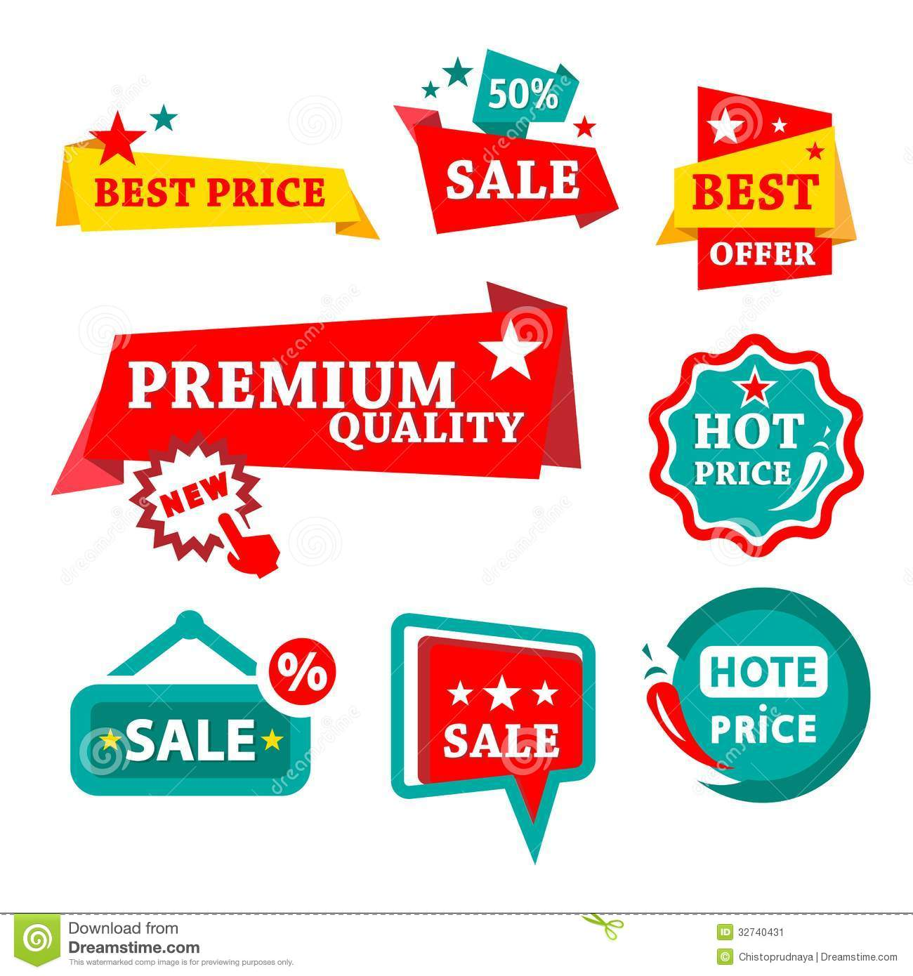 sale  u0026 discount badges stock vector  illustration of