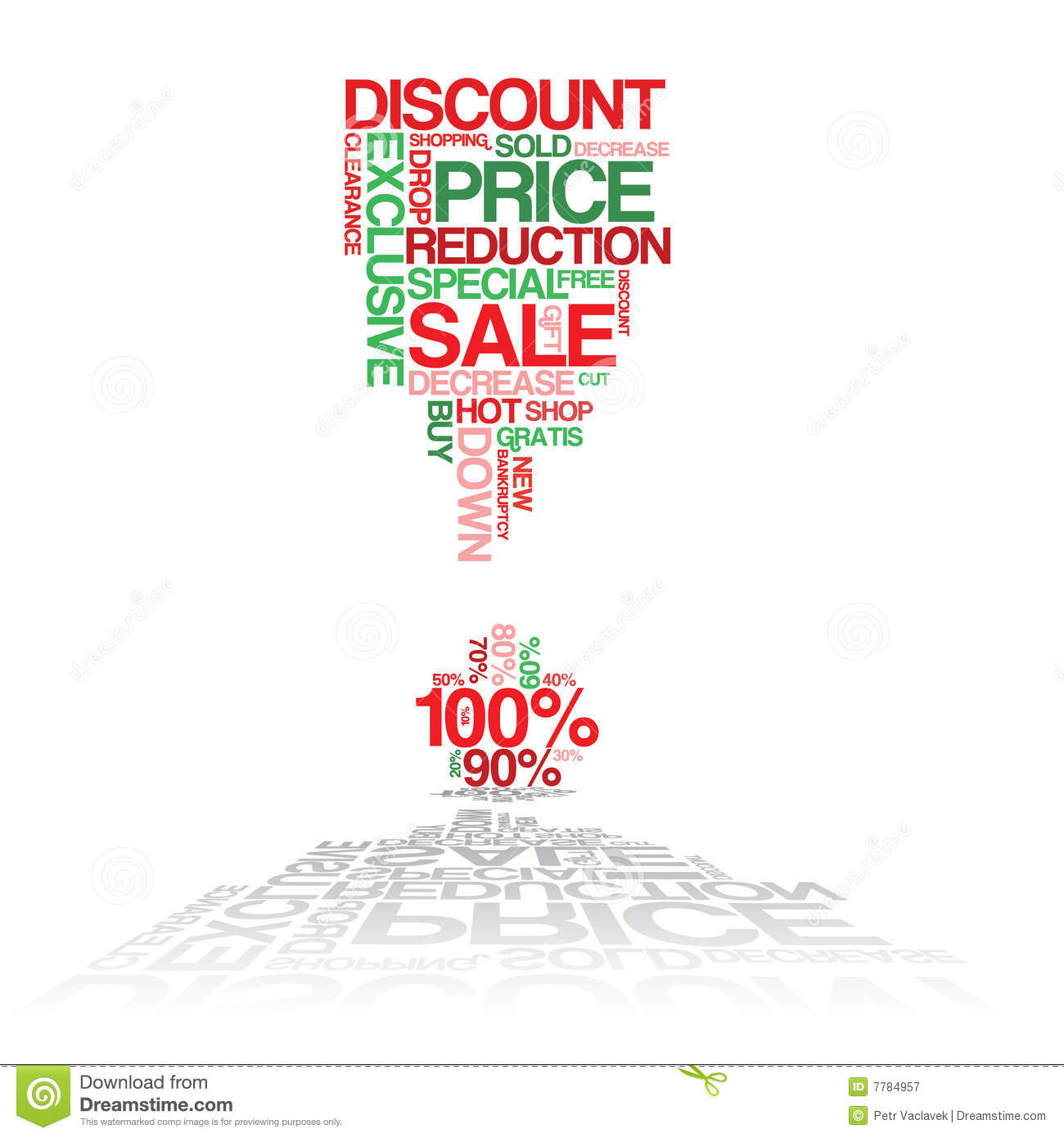 Sale discount poster royalty free stock photography for Cheap prints and posters