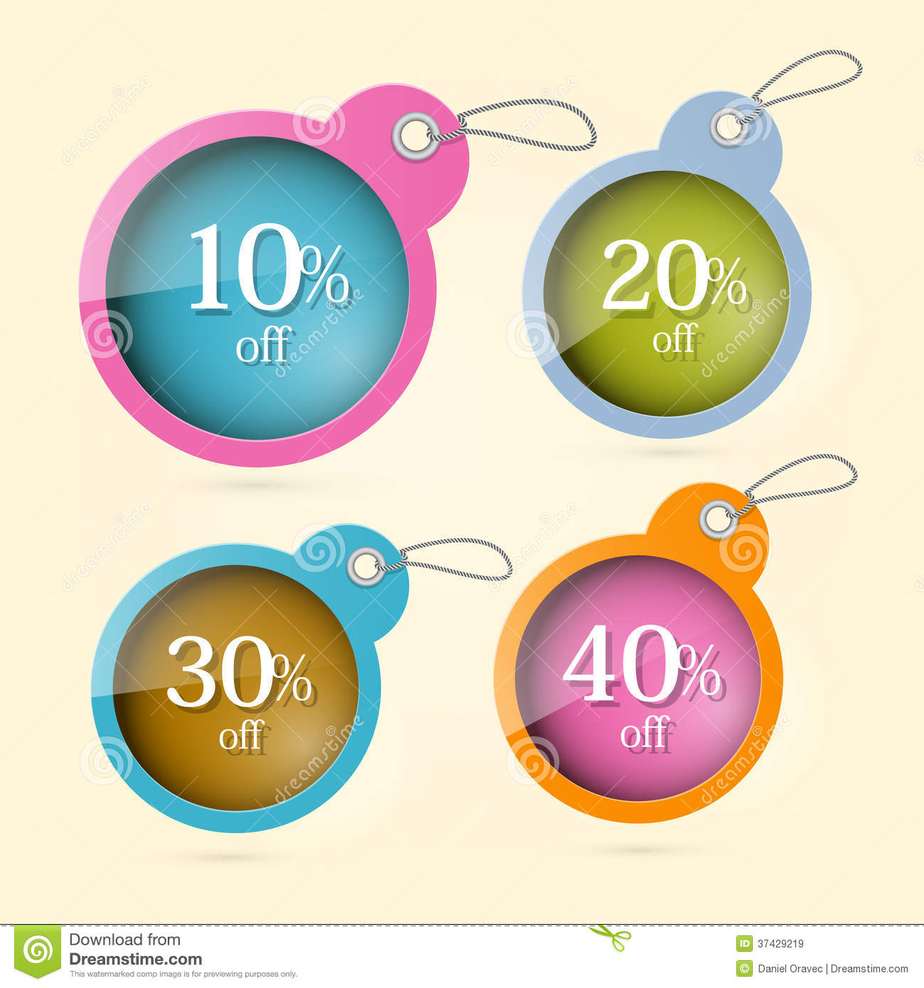 Sale discount vector circle labels royalty free stock images image