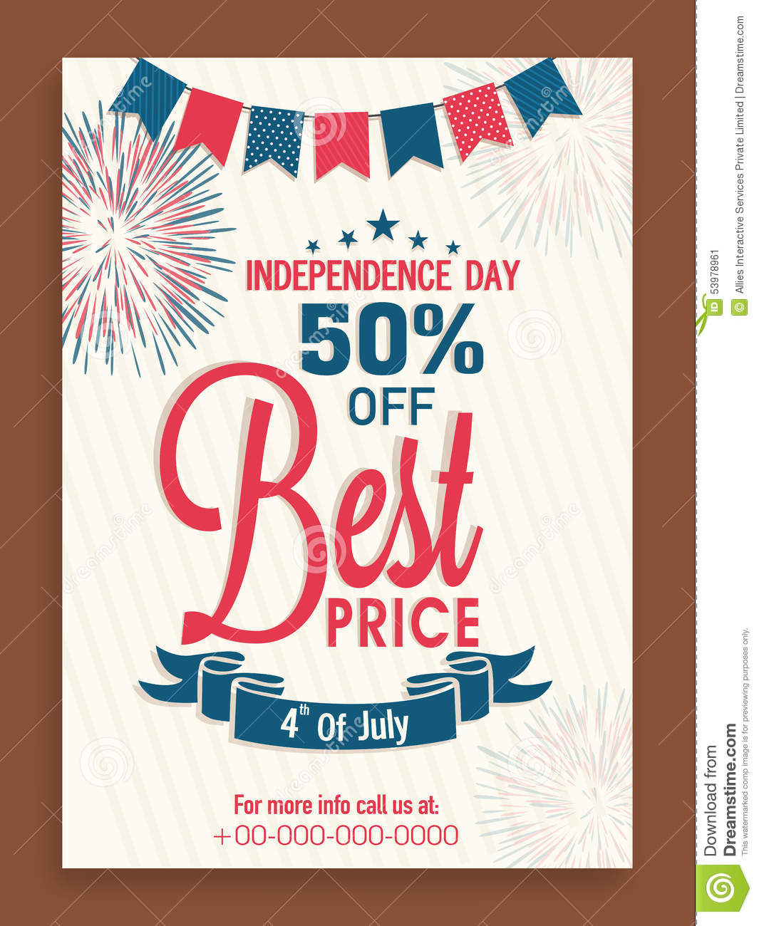 flyer or template for american independence day celebration flyer or template for american independence day celebration