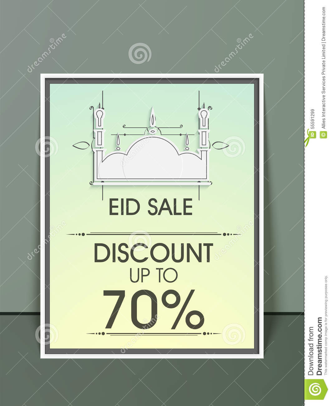 Stylish Sale Flyer, Banner Or Template. Royalty-Free Stock