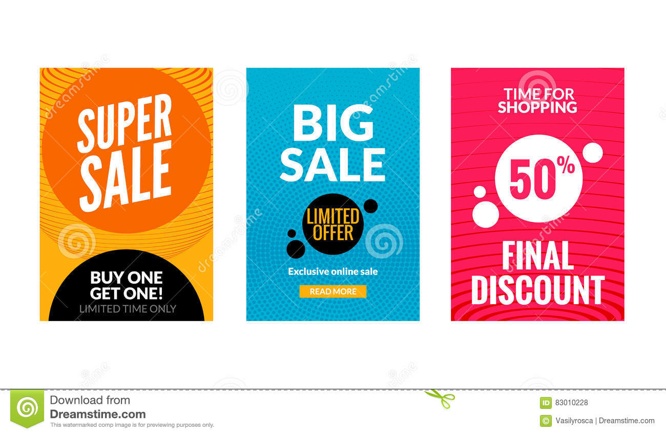 Price for a poster design - Price For A Poster Design Sale Flyers Set With Discount Offer Season Best Price Poster