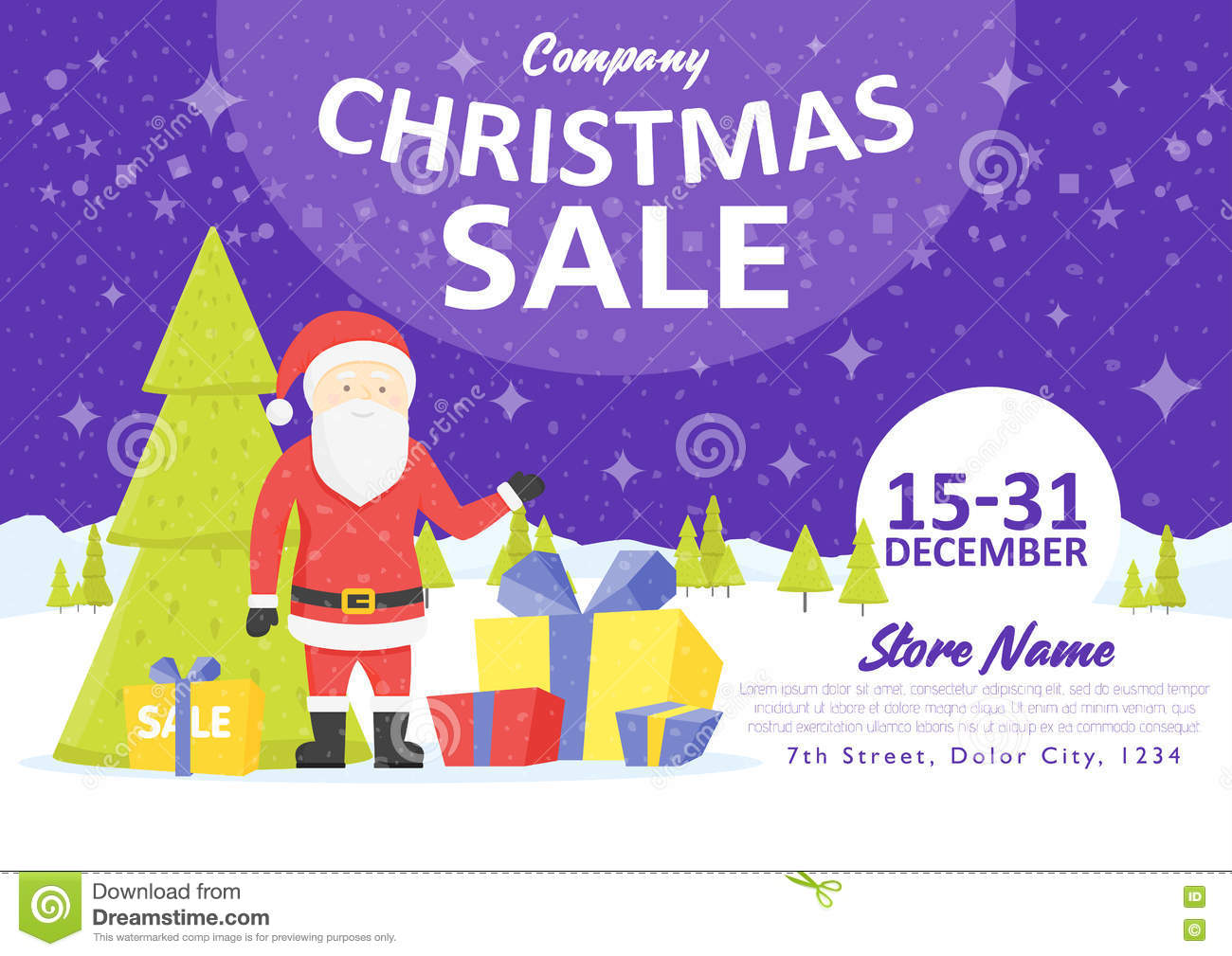 Royalty Free Illustration Download Sale Holiday