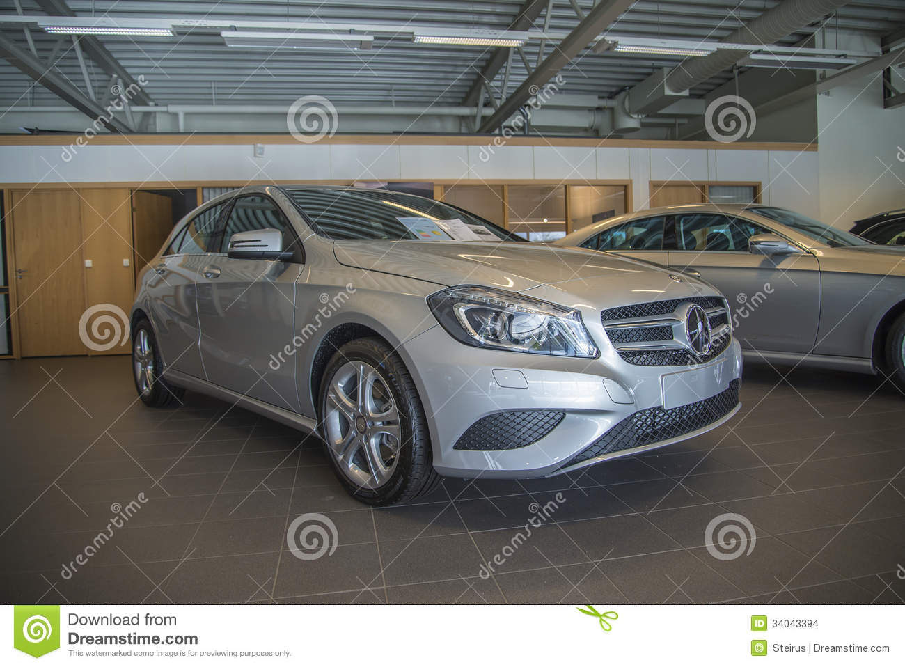 For sale mercedes benz a class editorial stock image for Mercedes benz dealership for sale