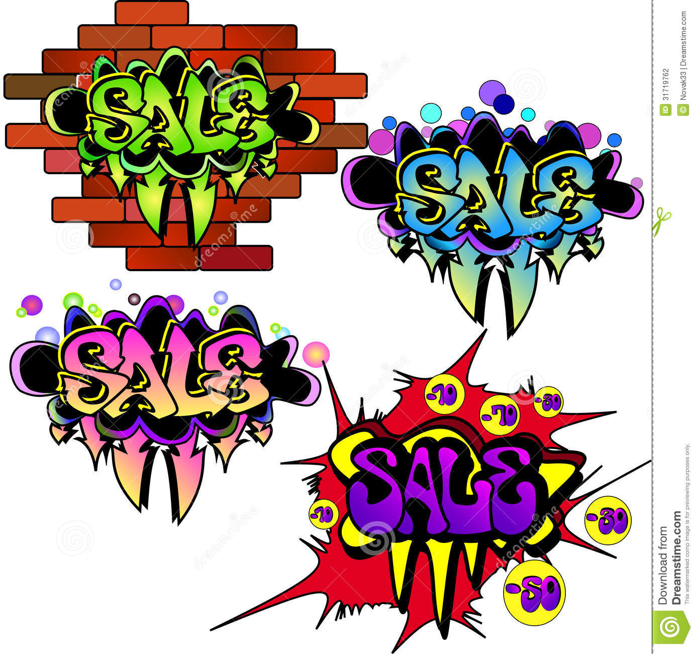 Sale Banners Set Stock Photography - Image: 31719762