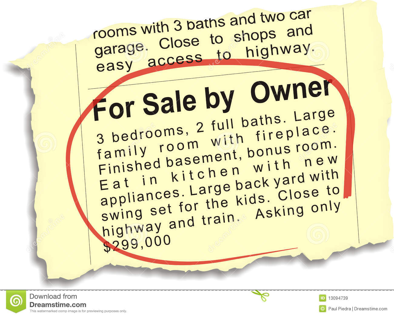 papers for sale by owner Whether you use an agent or sell by owner, you will still have to pay for preparing  the house for sale marketing costs legal fees and transfer taxes, if required.