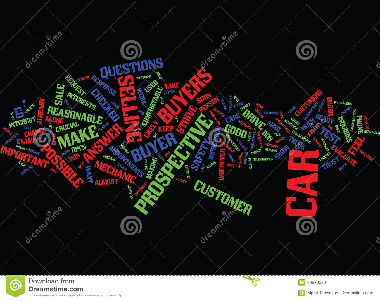 For Sale By Owner Cars And Trucks Text Background Word Cloud Concept