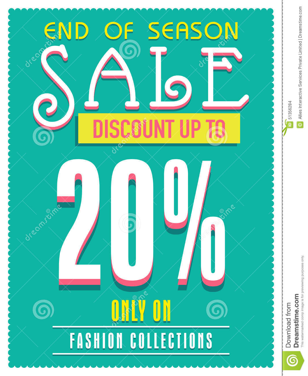 Sale Poster Banner Or Flyer Design Illustration Image – Sale Flyer Design