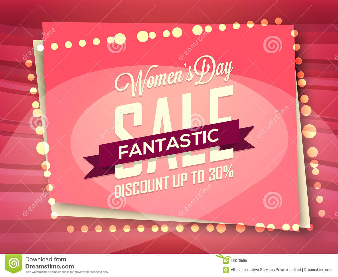poster banner or flyer for women s day stock illustration poster banner or flyer for women s day