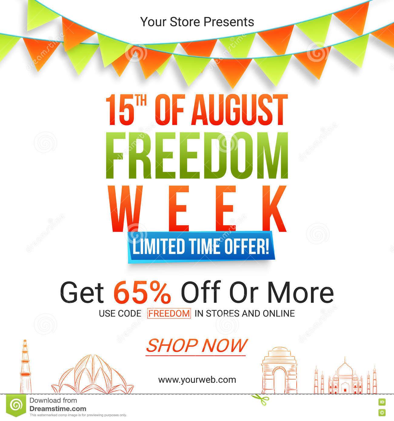 Freedom day sales coupons