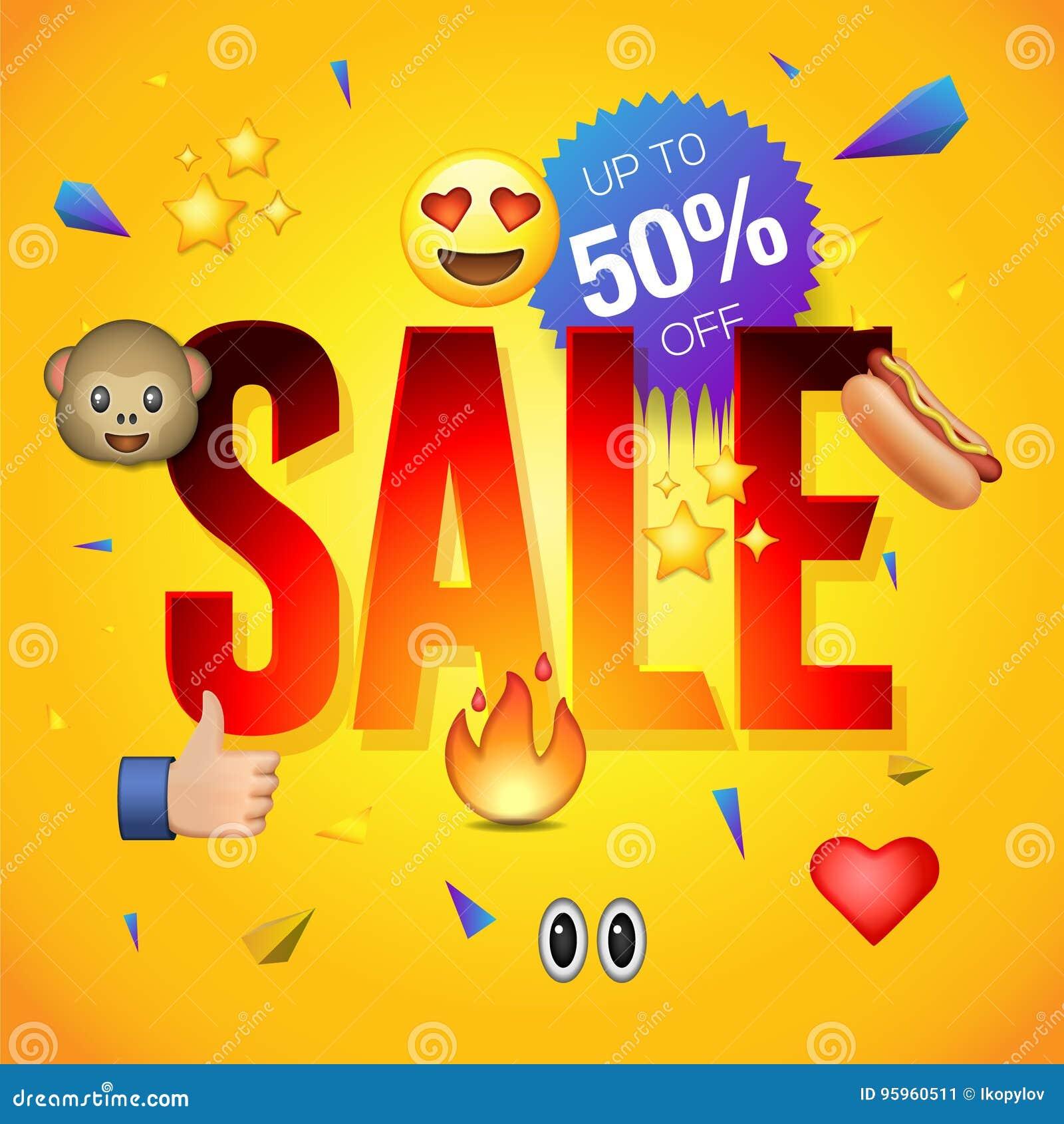 sale poster or flyer design on colorful background use for online