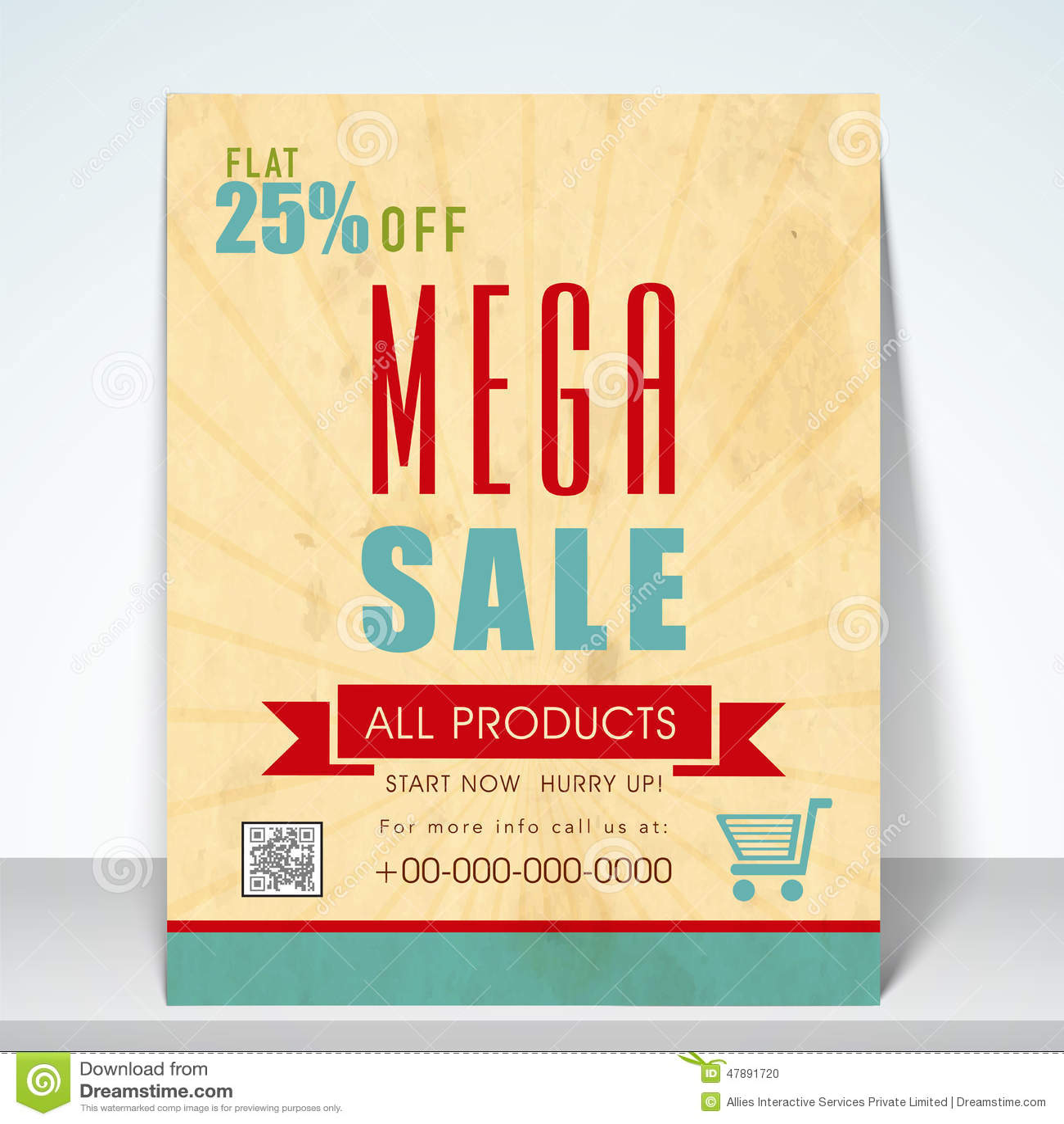 sale poster flyer or template stock illustration illustration of