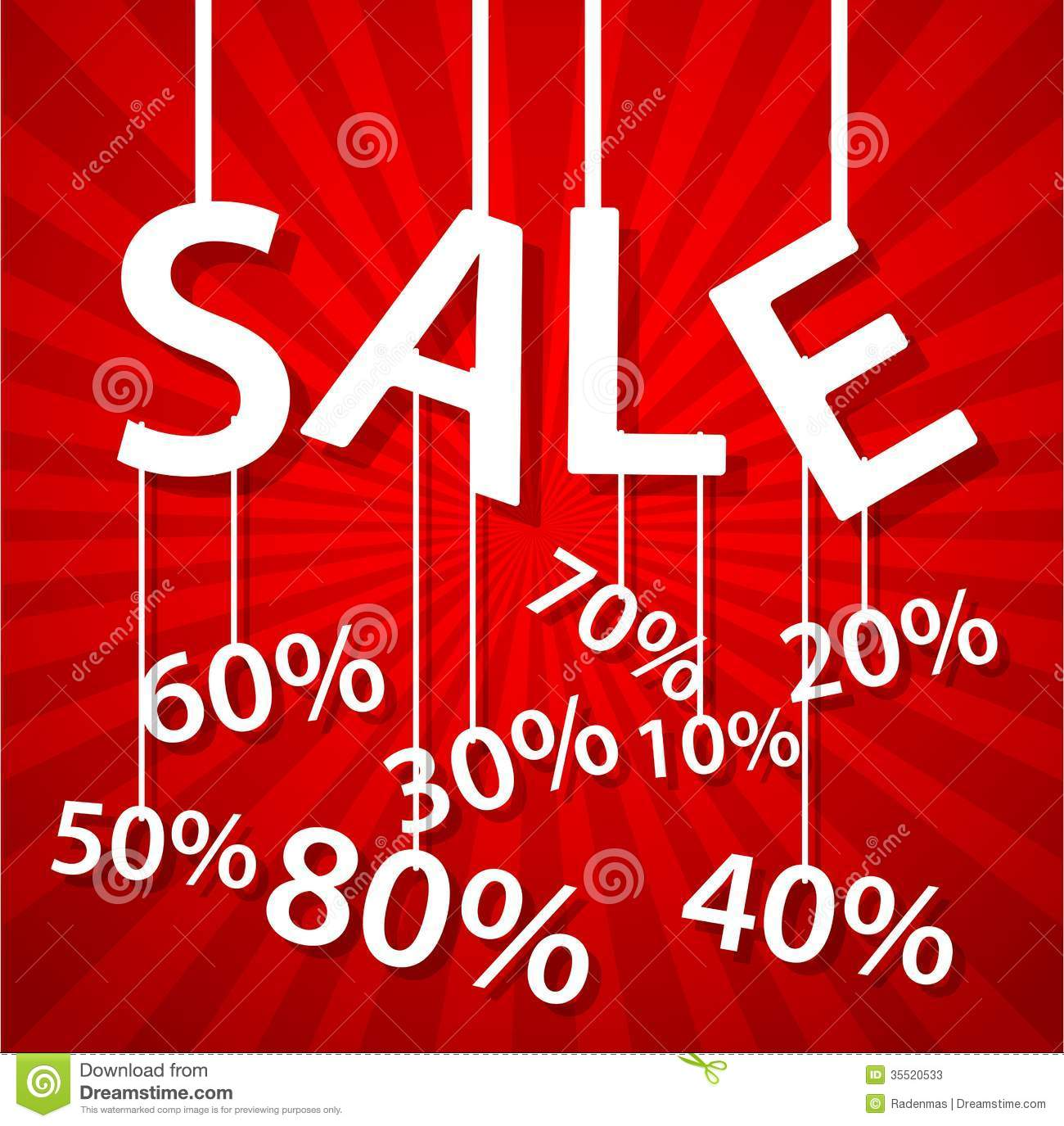 Sale Poster With Percent Discount Stock Photos - Image: 35520533: dreamstime.com/stock-photos-sale-poster-percent-discount...