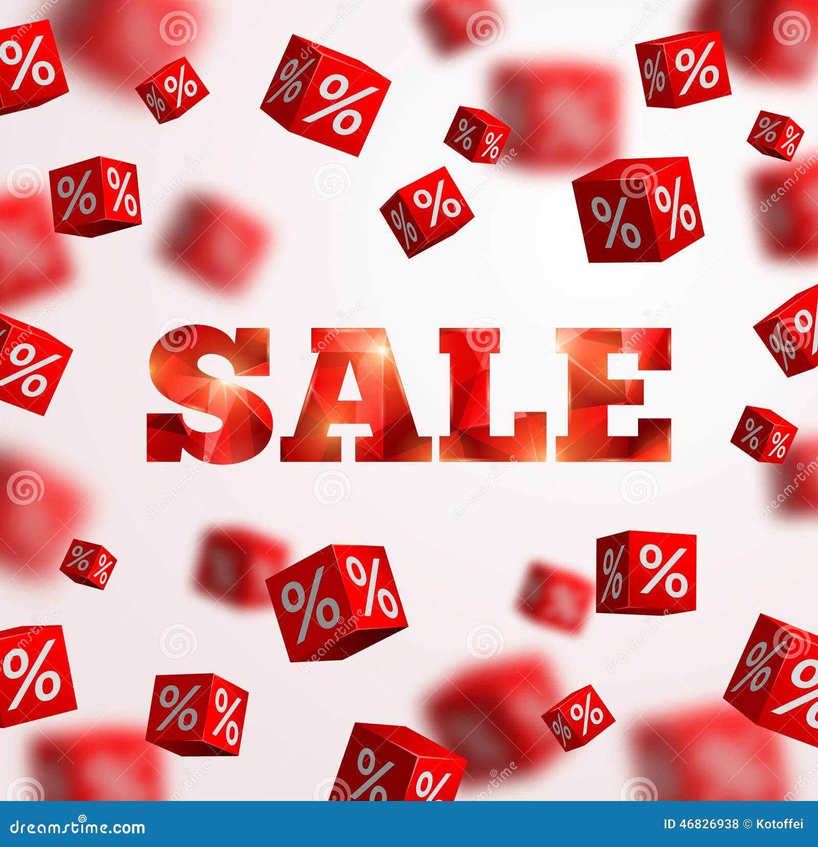 sale poster vector illustration design template stock vector