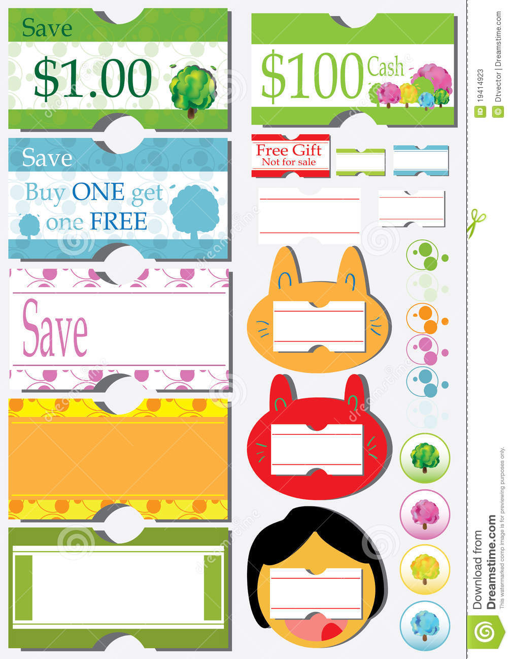 Sale Price Coupon Sticker_eps