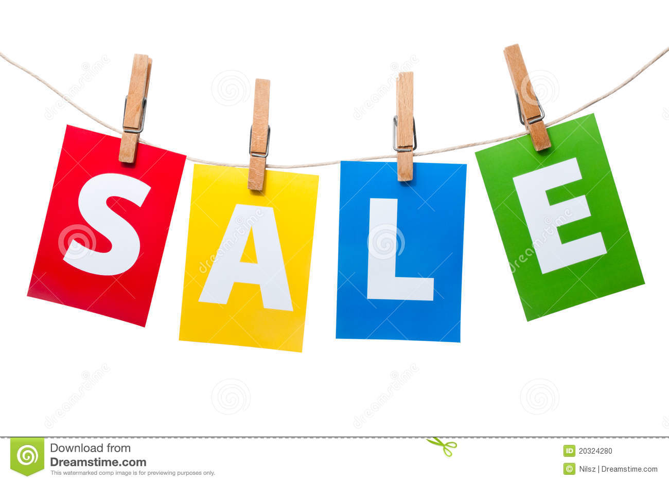 Sale price tag on line stock photo image 20324280 for For sale on line