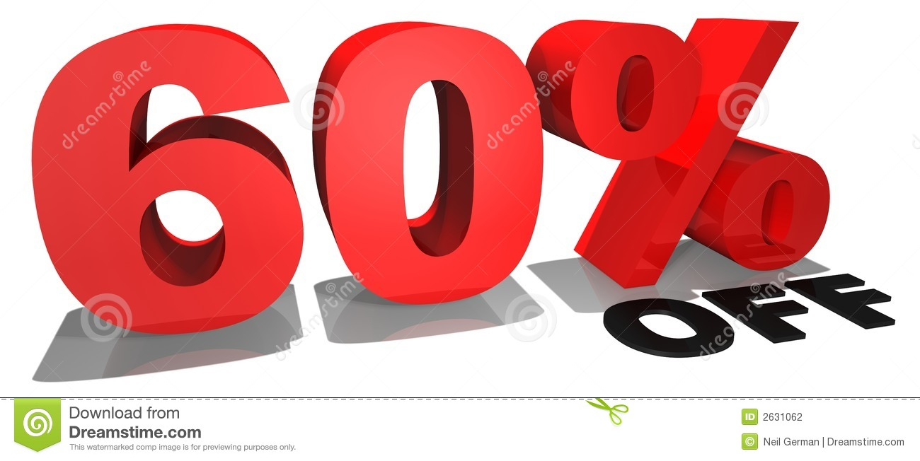 Sales promotion 3D rendered text, red and black on a white background ...: www.dreamstime.com/stock-photography-sale-promotion-text-60-off...