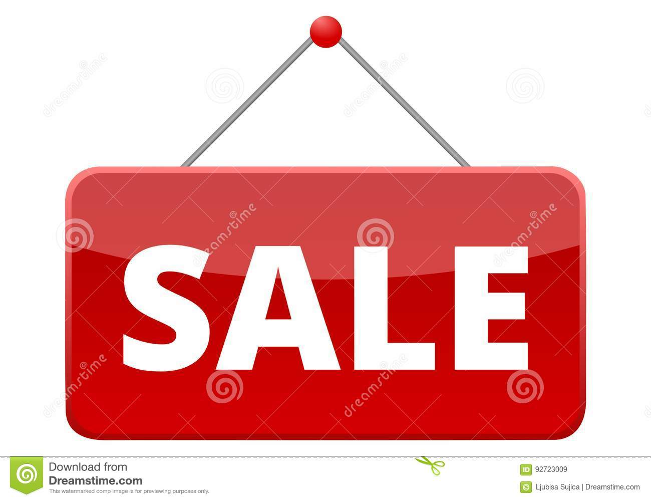 Sale red sign