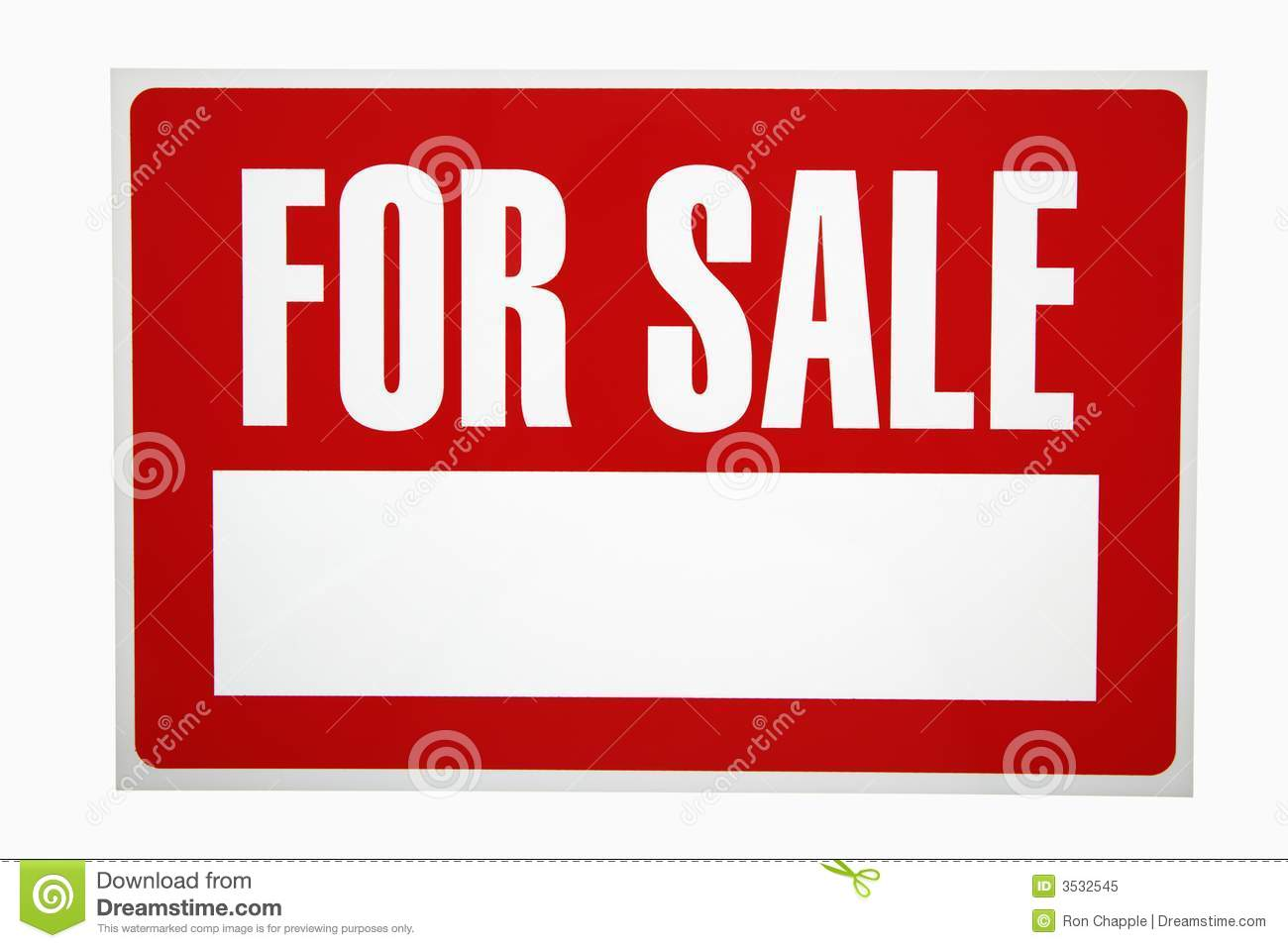 For sale sign royalty free stock photo image 3532545 for Photographs for sale online