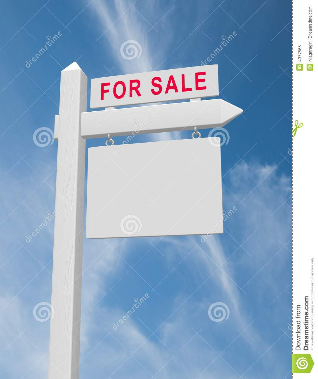 for sale sign royalty free stock photo