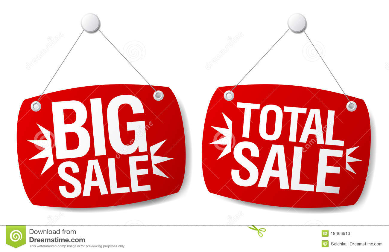Sale Signs Stock Photos Image 18466913