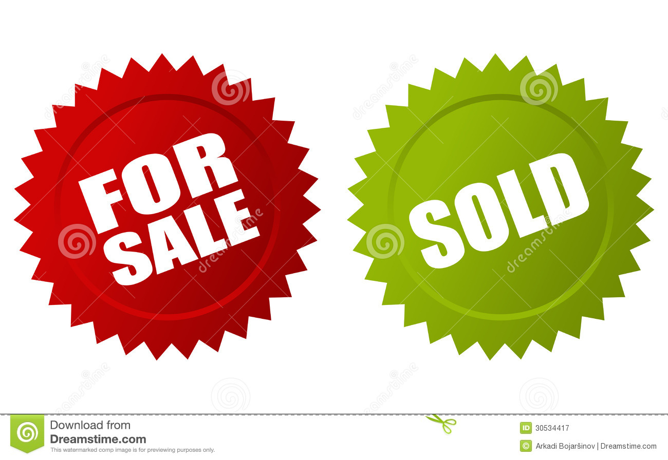 For sale sold icon royalty free stock photography image for Photography pictures for sale