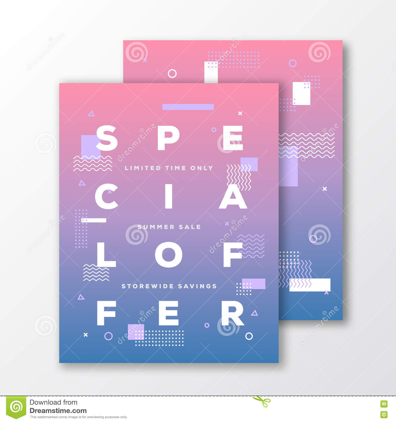 special offer poster card or flyer template modern abstract special offer poster card or flyer template modern abstract flat swiss style background