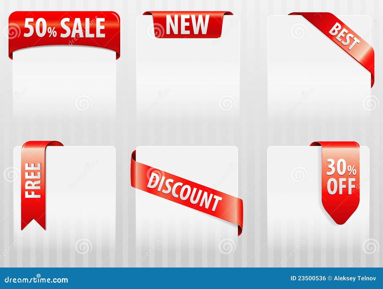 Sale Tags Labels