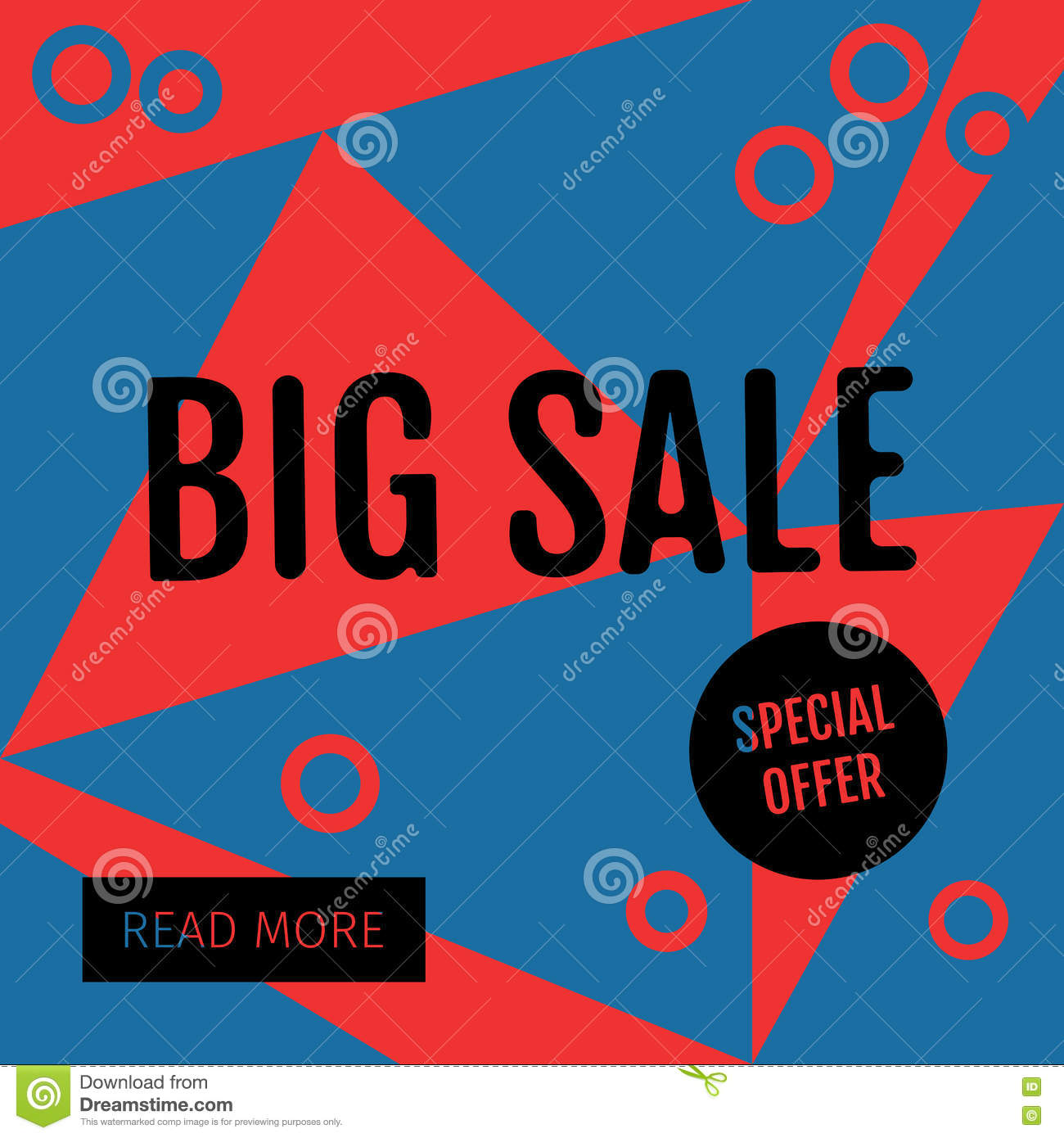 Sale Templates With Discount Offer Stock Vector Illustration Of