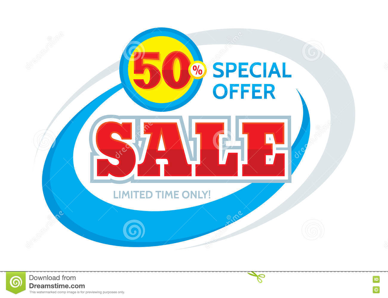 vector banner design discount % off special offer layout vector banner design discount 50 off special offer layout limited time only