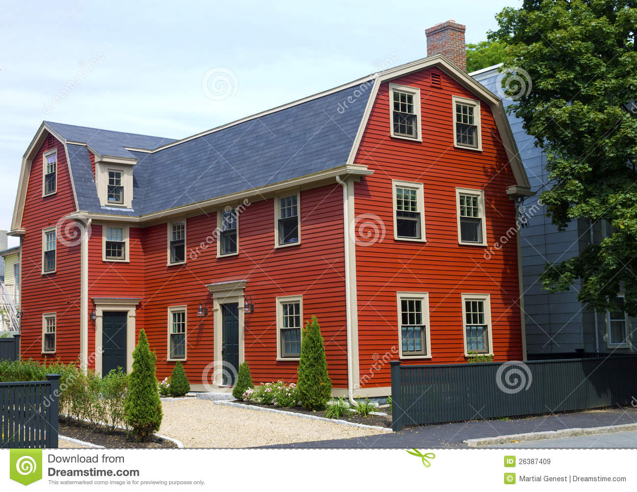 Witch house in salem massachusetts stock image for Salem house