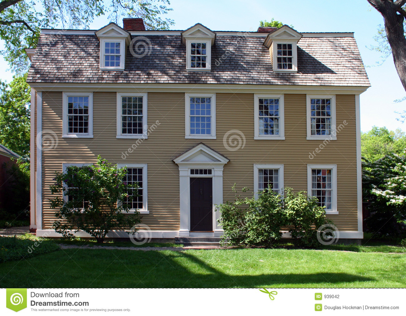Salem House Stock Photography Image 939042