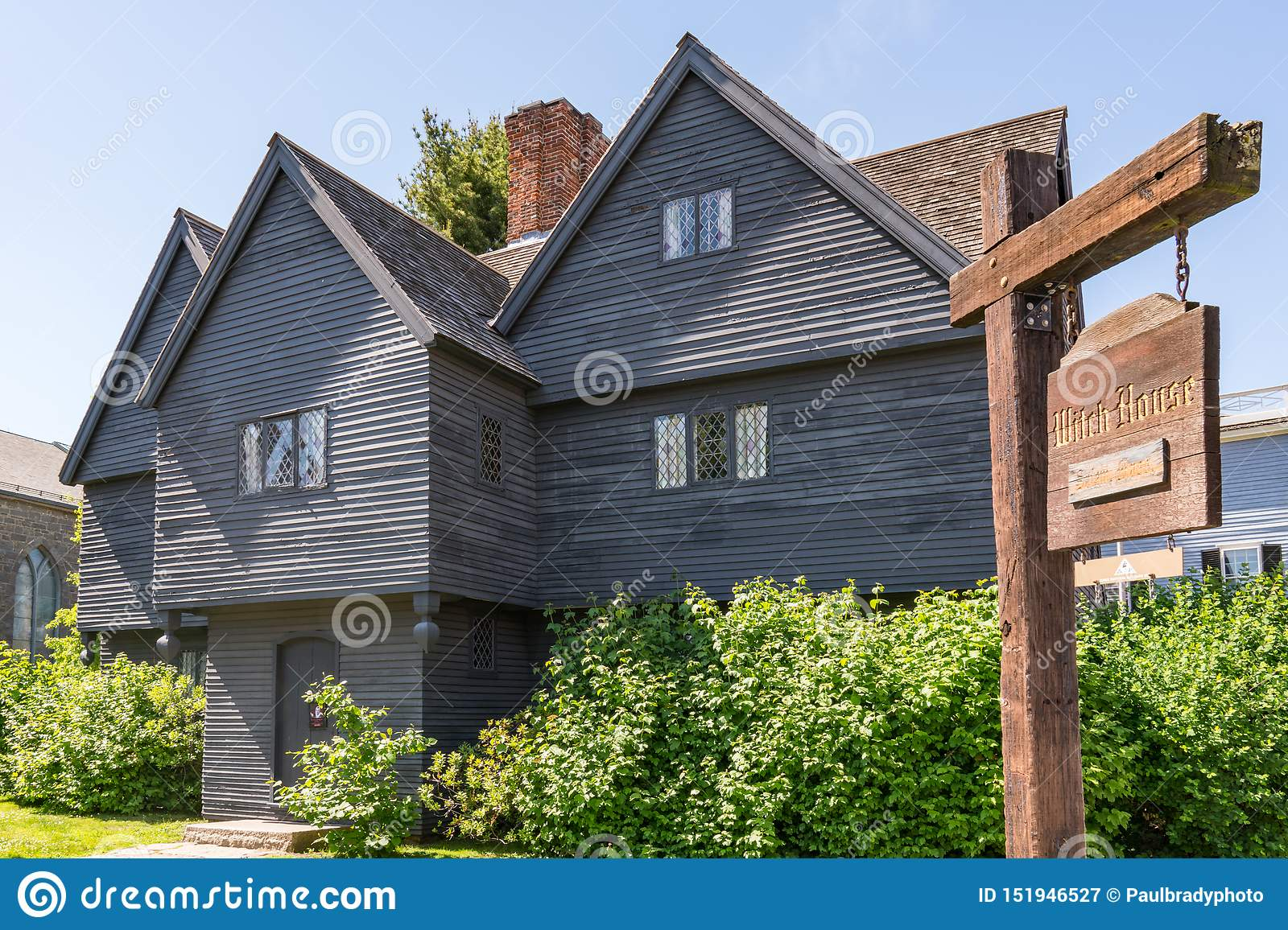 Witch House Of Salem, Massachusetts Editorial Photography ...