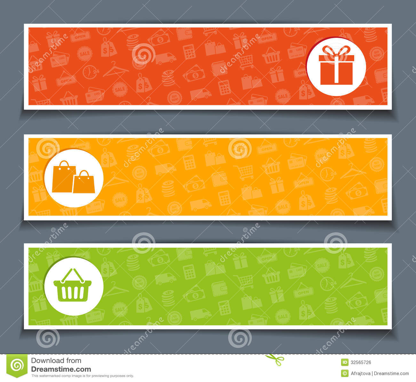 Three Super Sales Banners Stock Illustration - Image: 52996123