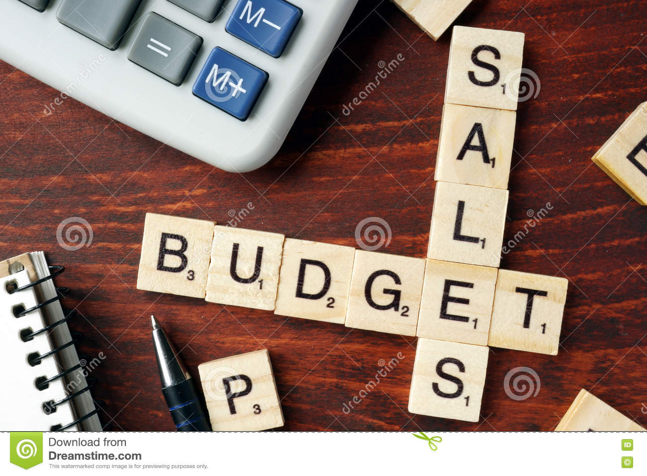 sales budget stock photo  image of budgeting  corporate
