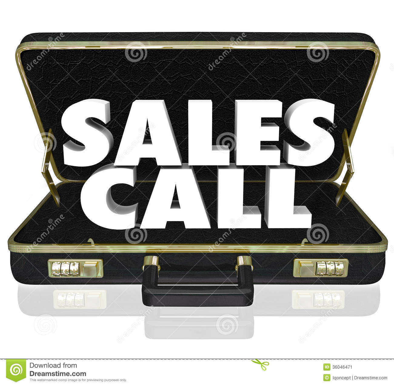 ... Briefcase Selling Presentation Proposal Stock Image - Image: 36046471
