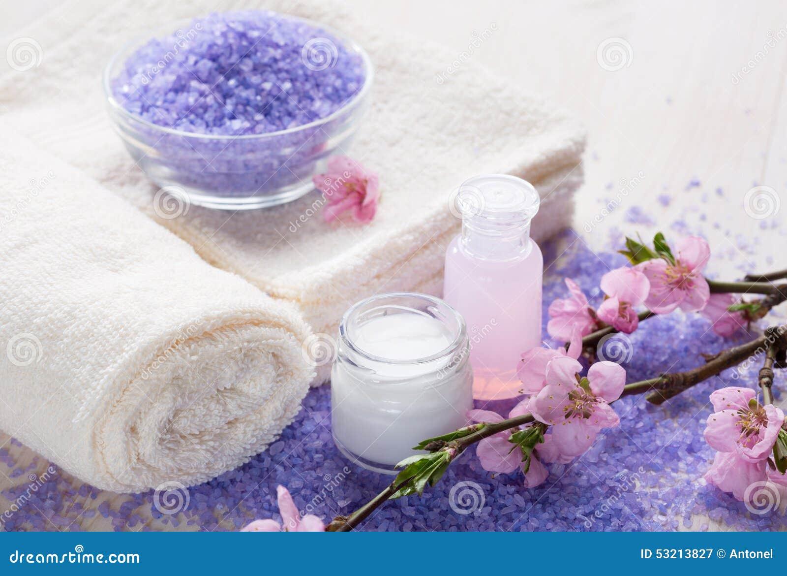 Sales De Ba 241 O Toallas Y Crema Hidratante Minerales En Un