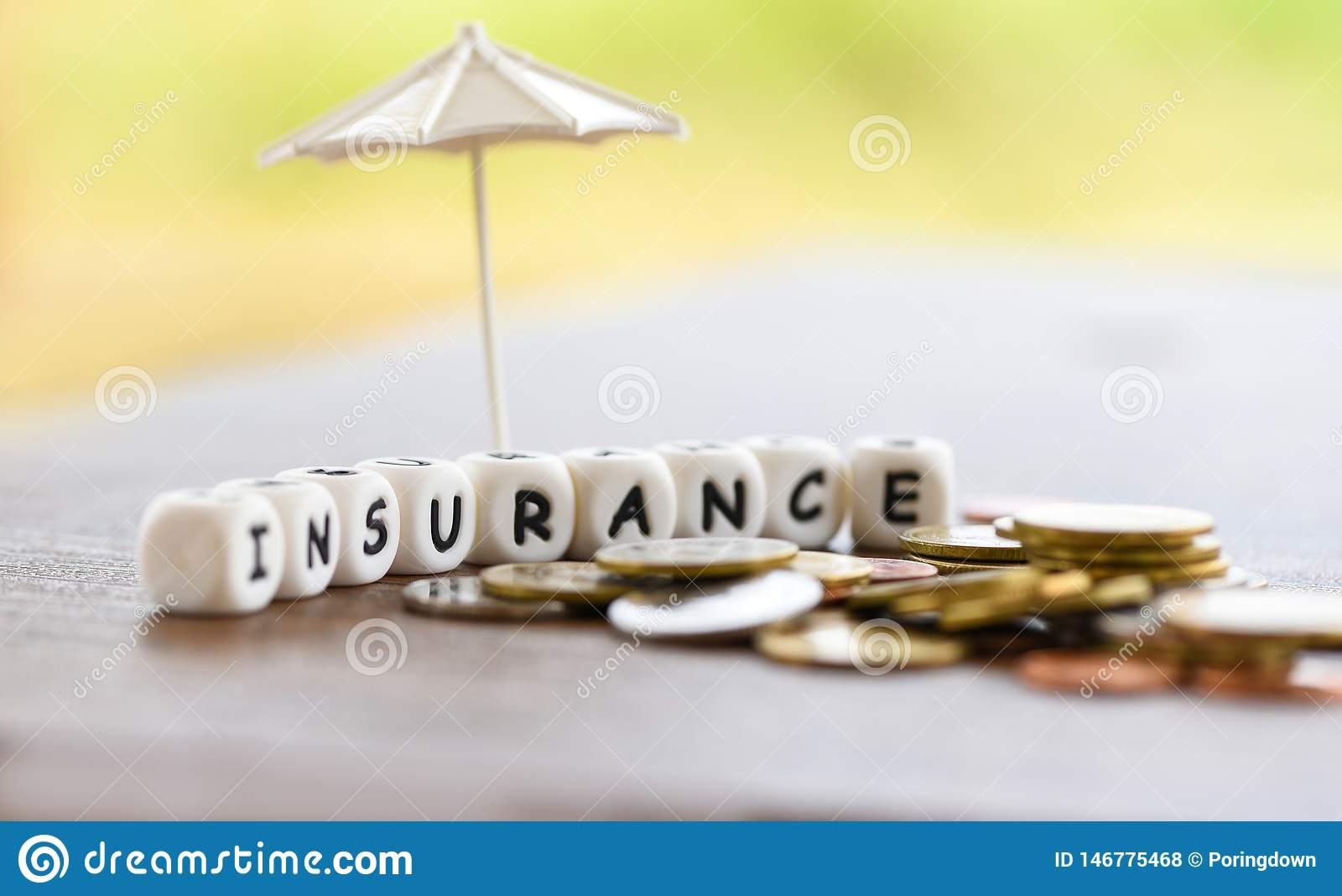 Sales insurance home , car, family concept