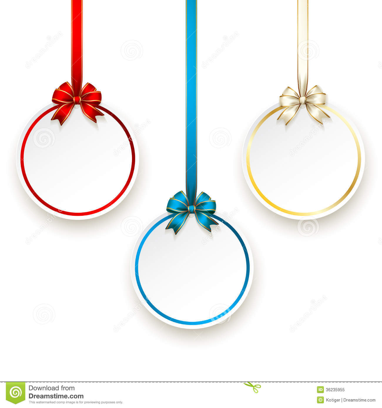 Sales Tags Empty Template Vector Royalty Free Stock Photo - Image ...