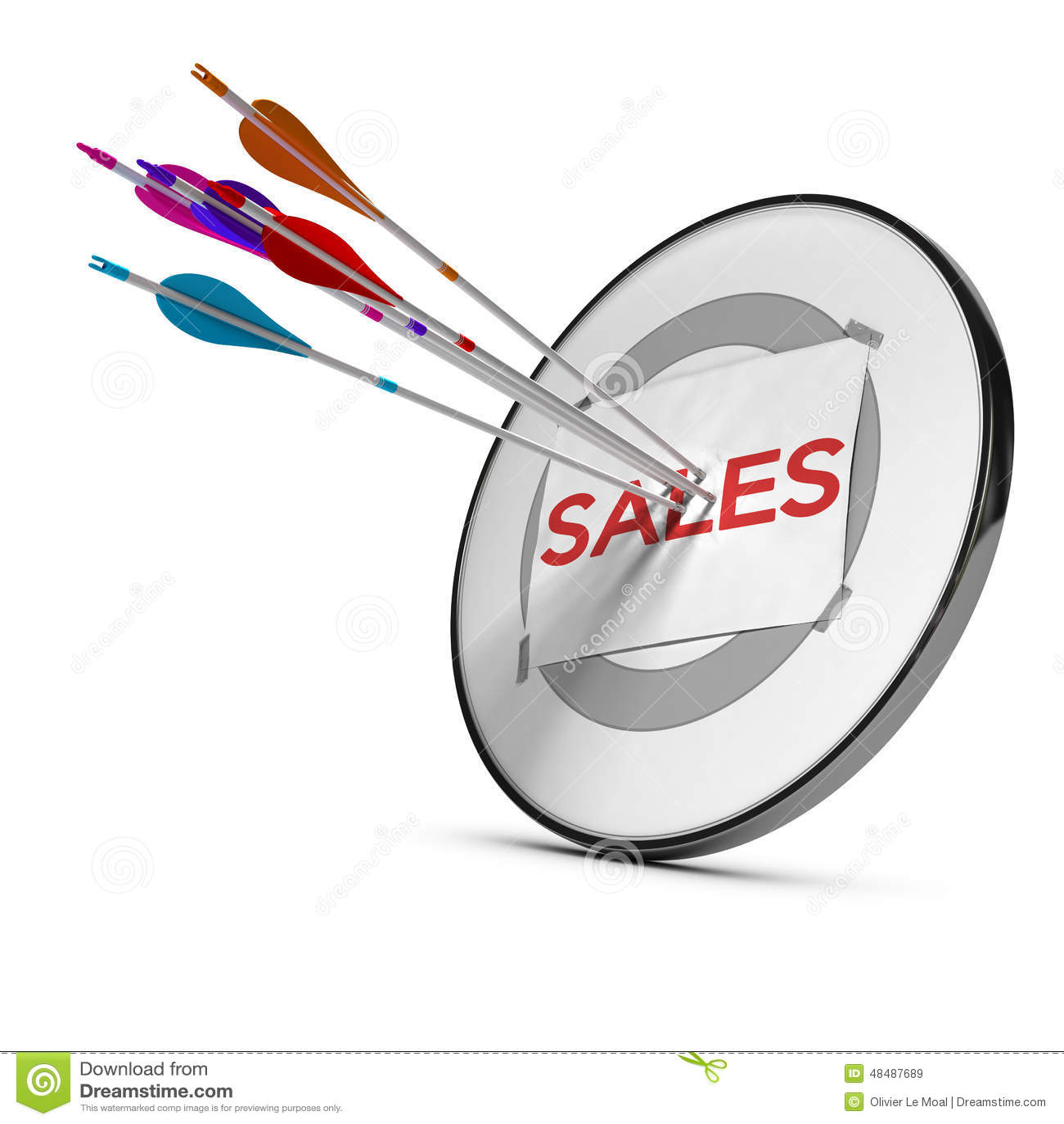 target sales paper