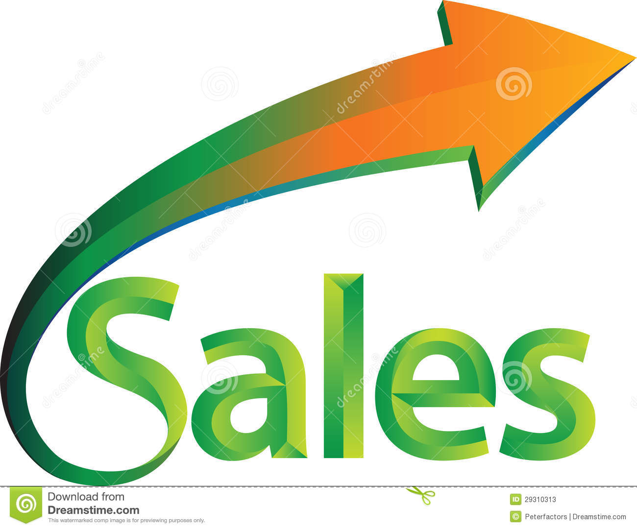 Sales is up